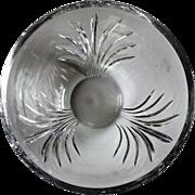 5 lb. Vintage Tiffany Bowl  never used  Signed