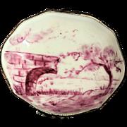 18th-19th c. Paris  Snuff Box  Trinket Box Porcelain