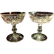 PAIR Waterford Sherbet / Champagne  Eileen Pattern c.1971