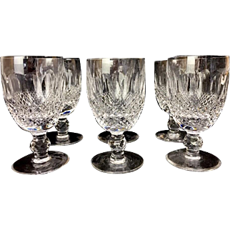 """3 1/4"""" Waterford Colleen Cordial Set-Six"""