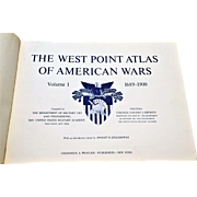 FIRST EDITION The West Point Atlas of American Wars 1959 Two Volumes