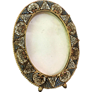 Micro Mosaic Frame Florence Italy EXCEPTIONAL DETAIL 1940's