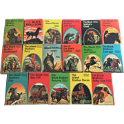 Set-17 Walter Farley Black Stallion DJs 1941-1971 FIRST EDITION