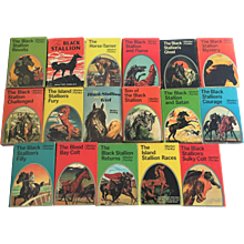 Set-17 Walter Farley Black Stallion DJs 1941-1971 FIRST EDITION