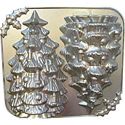 LARGE SIZE Nordic Ware Christmas Tree Mold Cake Pan