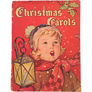 1942 Christmas Carols Book Karl Schulte Piano Sheet Music w/bookmarker