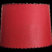 """16""""x12""""x11"""" Mid-Century Fiberglass Lamp Shade Retro Drum Shade"""