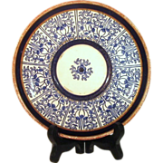 Royal Worcester ROYAL LILY Plate  c. 1878