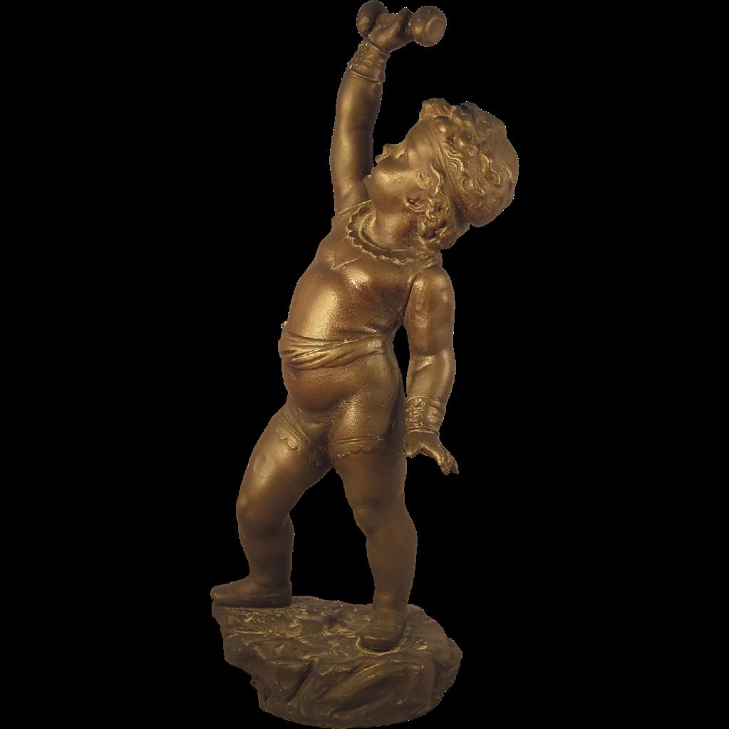 Satyr Bronze Sculpture By Clodion   Modernism