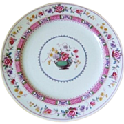 Royal Doulton Salad Plate C.1911 Urn Pattern  Sandwich Plate  HAND PAINTED
