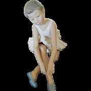 Lladro NAO Ballerina Retired 1983