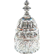 Waterford Paperweight Capital Dome Building  Cut Glass Crystal