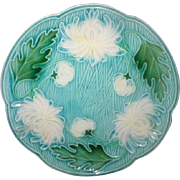 MAJOLICA Villeroy and Boch Schramberg Charger Platter Plate German  11 5/8""
