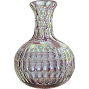 Pairpoint Carafe  Cut Glass  Savoy Pattern  c.1870's