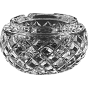 Waterford Ashtray  Lismore Pattern Crystal  THINK GIFT