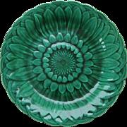 Majolica Plate WEDGWOOD c.1872  Sunflower Pattern  Josiah Wedgwood