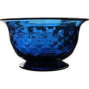Pairpoint Bowl Cobalt Signed GREAT GIFT