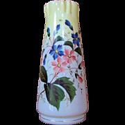 """X.LG.  Bristol Vase  13""""  Victorian Period"""