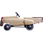 1950's Murray No, 742 Sand and Gravel Dump Truck Pedal Car
