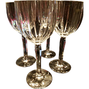 FOUR Waterford Balloon Wine Crystal