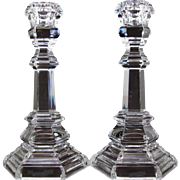 "Tiffany and Co. Candlesticks  Plymouth Pattern  8"" Vintage"