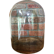 "13 1/2"" x  9""  Victorian Glass Dome Display LARGE"