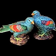 Pr. Chinese Porcelain Bird Figurine Republic Period 1910-1928