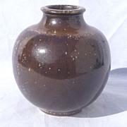 1954 Royal Copenhagen Denmark Studio Stoneware Vase by Kersten Bloch