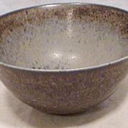 Mid-Century Saxbo Hare's Fur Bowl