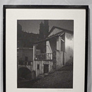 Gordon C. Abbott Signed Original Photo Hotel Arcos 1930s-40s