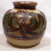 Big Soholm Cactus Series Stoneware Vase