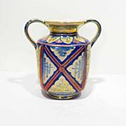 Antonio Rubboli Italian Lustre Pottery Vase