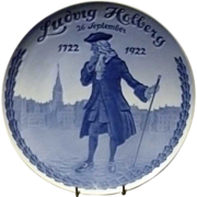 1922 Royal Copenhagen Commemorative Ludvig Hollberg