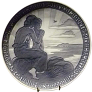 1918 Royal Copenhagen Commemorative Peace Plate
