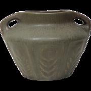 c1907-12 Van Briggle Matte Glazed Handled Vase