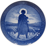 1957 Royal Copenhagen Christmas Plate
