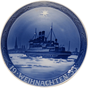 1933 Royal Copenhagen Christmas Plate