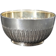 1906 Danish Silver Bowl by A. Dragsted Copenhagen