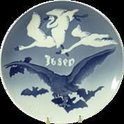 1907 Ibsen Commemorative Bing & Grondahl Plate
