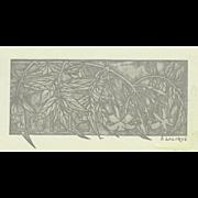 Rare R. Lalique Emilie Book Plate