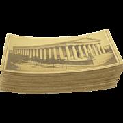 45 1880s Cabinet Card Photographs of Paris