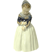 Vintage Royal Copenhagen Figurine Armager Girl #1251