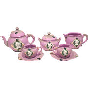 Schafer & Vater Jeweled Cameo Tea Set
