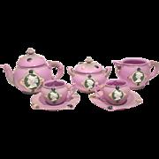 Schafer & Vater Jeweled Cameo Tea Set