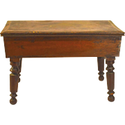 19th Century Miniature Cherry Wood Table