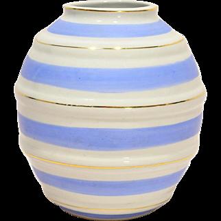 Arabia Finland Modernist Ring Vase