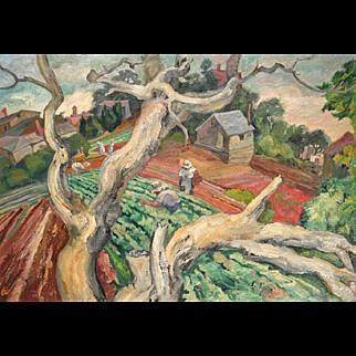 1952 Saul Raskin Painting