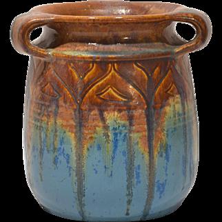Denby Pottery Danesby Ware Art Nouveau Vase
