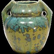 Pierrefonds Crystalline Glaze Ceramic Vase, circa 1910