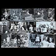 1935 Cute Kids, Dogs, Tea Party, Dolls, Toys, Easter, Mementos, 1935 Photo Album
